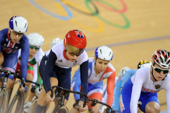 Laura Trott wins ominum at London 2012