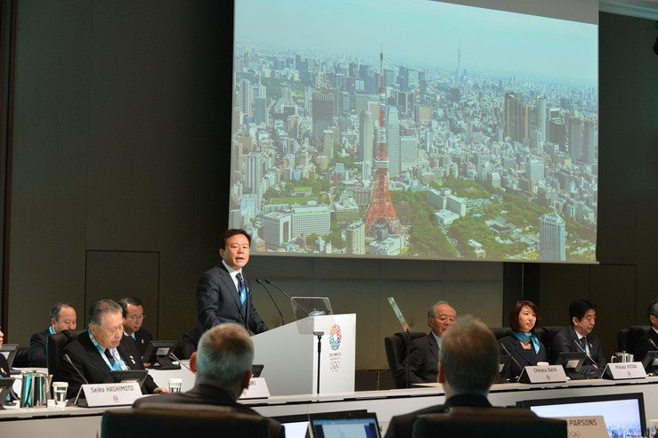 Governor Naoki Inose details Tokyos passion and ability to host wonderful Games at the IOC Evaluation Commissions opening sessions in the heart of Tokyo resize