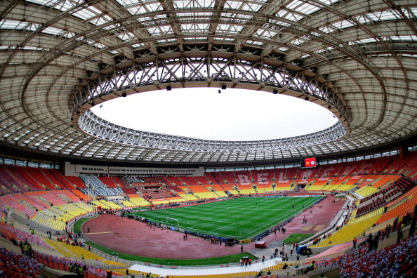 Moscows Luzhniki Stadium will host matches at the Rugby World Cup Sevens 2013